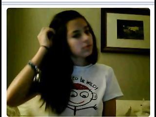 όμορφη, σκοτεινό, σκοτεινά μαλλιά, καπέλο, φυλακή, μεξικάνικο, σέξυ, ταξί, έφηβη, Webcam
