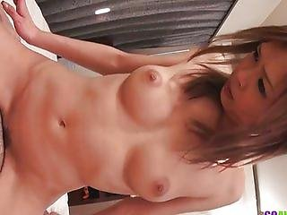 Rina loves a warm creampie