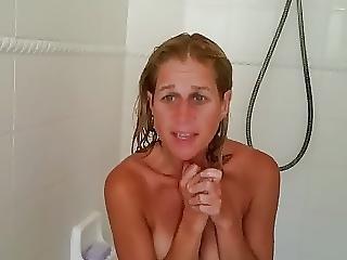 Grumpy Lori Cusimano Shower Surprise