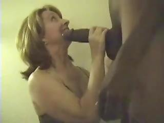 Massive And Girthy Black Cock For This Milf