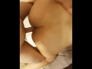 Girlfriend Fucked Doggystyle On The Couch