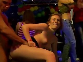 Nightclub Whores Suck & Fuck Male Strippers 47