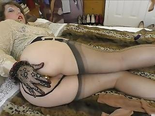 Stockingbabe_032_gold Heels And Blouse Hq