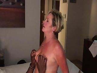 Interracial Swinger Wifes Fucks Young Black Man