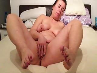 Bbw Milf Mature Mom Chubby Feet Spreading Ass Toes Pregnant