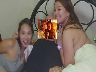 Two Brown Filipina Besties Scandel Cheat With Bwc