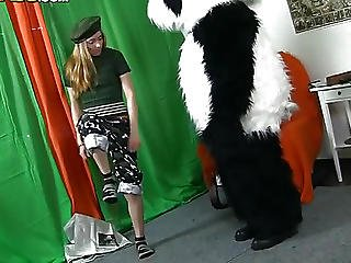 Whats The Best Way To Talk The Panda Bear To Join The Army?