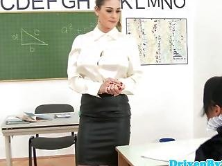 Glam Teacher Loves Wam Lesbian Fourway