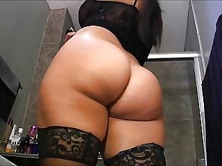 Ass, Brunette, Butt, Goddess, Latina, Lingerie, Small Tits, Worship