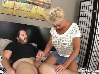 Granny Lube Handjob