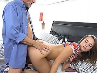 Sexy Teen Liza Rowe Wants His Neighbors Dick