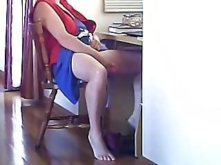 amatoriale, telecamera nascosta, masturbazione, matura, voyeur