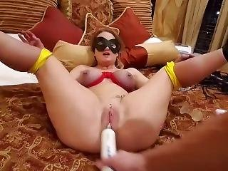 Milf Squirting, Fisting, Bondage, Pierced Pussy And Tits