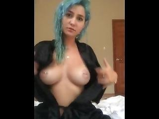 Skye Blue - Dildo Blowjob