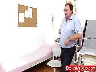 Kirsten Plant In Gyno Hospital Bizarre Cunt Checkup