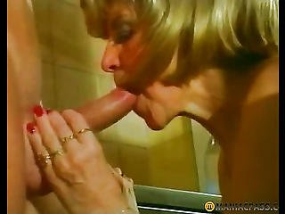 In The Mouth, The Blonde Guy Dick