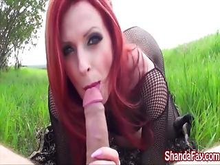 Ass, Blowjob, Busty, Cowgirl, Fucking, Hat, Milf, Mom, Outdoor, Public, Riding