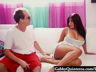 Meximilf Slut Gabby Quinteros Gets Her Pussy Stuffed