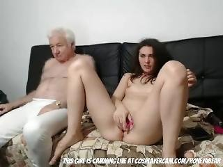 Grandpa Loves On Cam