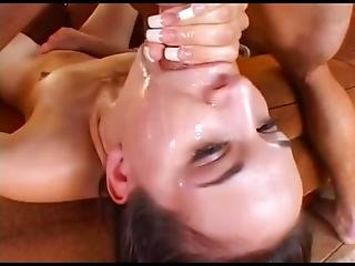 Hot Cristina Agave Punished In Pussy
