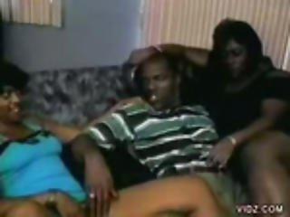 Ebony  Sluts Indulge Their Horny Holes