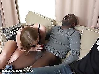 His Girlfriend Beautiful Blue Eyes Fucked By Monster Cock