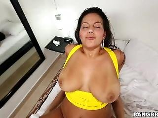 Juliana - Sexy Latina With Big Natural Tits And A Fat Ass!-btra12815