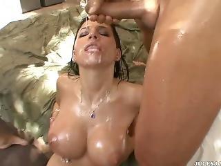 Rebeca Linares Big Tits Cumshot Compilation Hd Pmv