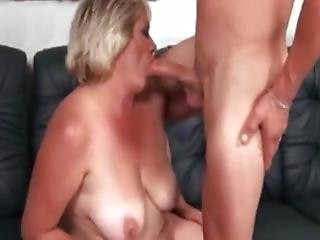 Fat Blonde Granny Fucked
