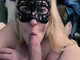 Hot Busty Blonde Gives Pov Blowjob Sexyvickie