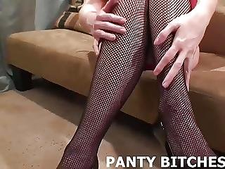 Are My Fishnets And Panties Driving You Wild Joi