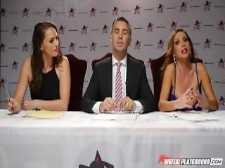 Dp Star 3 Hot Natural Brunette Cassidy Klein Deep Throat Blowjob