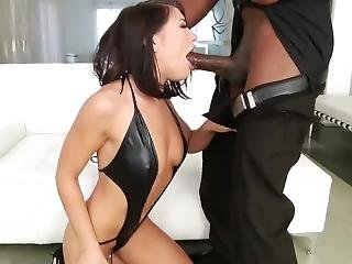Adriana Chechik Gets Assfucked Black Cock