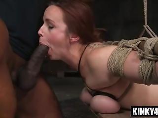 Bondage, Busty, χύσιμο, διπλή διείσδυση, διείσδυση, πορνοστάρ, τριο