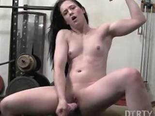 Cheyenne Jewel Dildo Workout