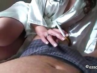 Fetish, Håndjobb, Røyking