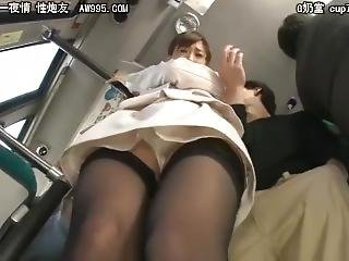 Japanese Enjoy The Cock In Train