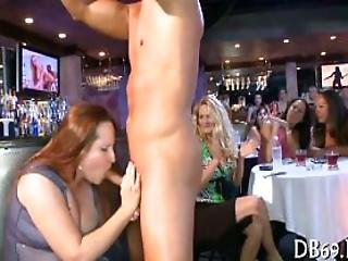 Sensual And Wild Stripper Party