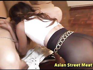 Oriental Butt Fucking Ngaingai Anal