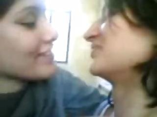 Indian Schoolgirl Lesbians Enjoying
