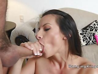 Horny Teen Bangs Bfs Huge Dick