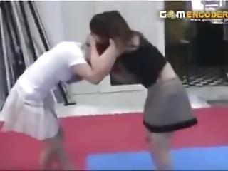 aziatisch, kattengevecht, fetish, lesbisch, volwassen