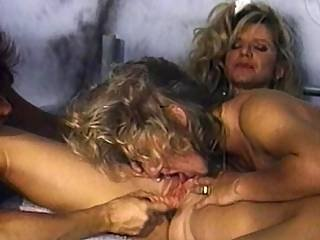 Three Lady Inmates Pamper Their Horny Slits