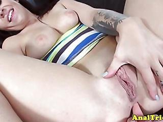 Girlfriend Madelyn Monroe Anally Pounded