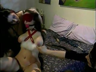 Jewell Blindfolded Gagged And Tortured By 2 Women