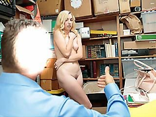 Zoe Parkers Pussy Pays For Her Bad Deed