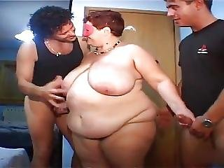 Fat Granny Double Penetration