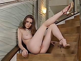 kont, chick, dikke tiet, brunette, model, natureel, naturele tieten, petite, roodharige, sexy, softcore