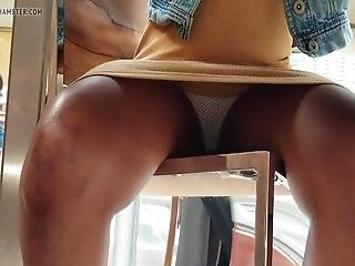 Upskirt In The Mall