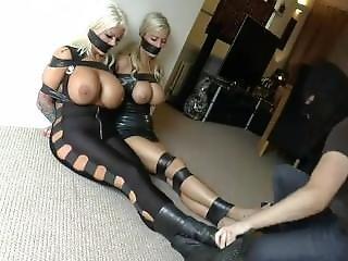 blond, bondage